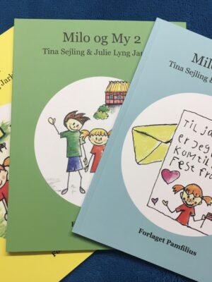 Alle tre bøger om Milo og My